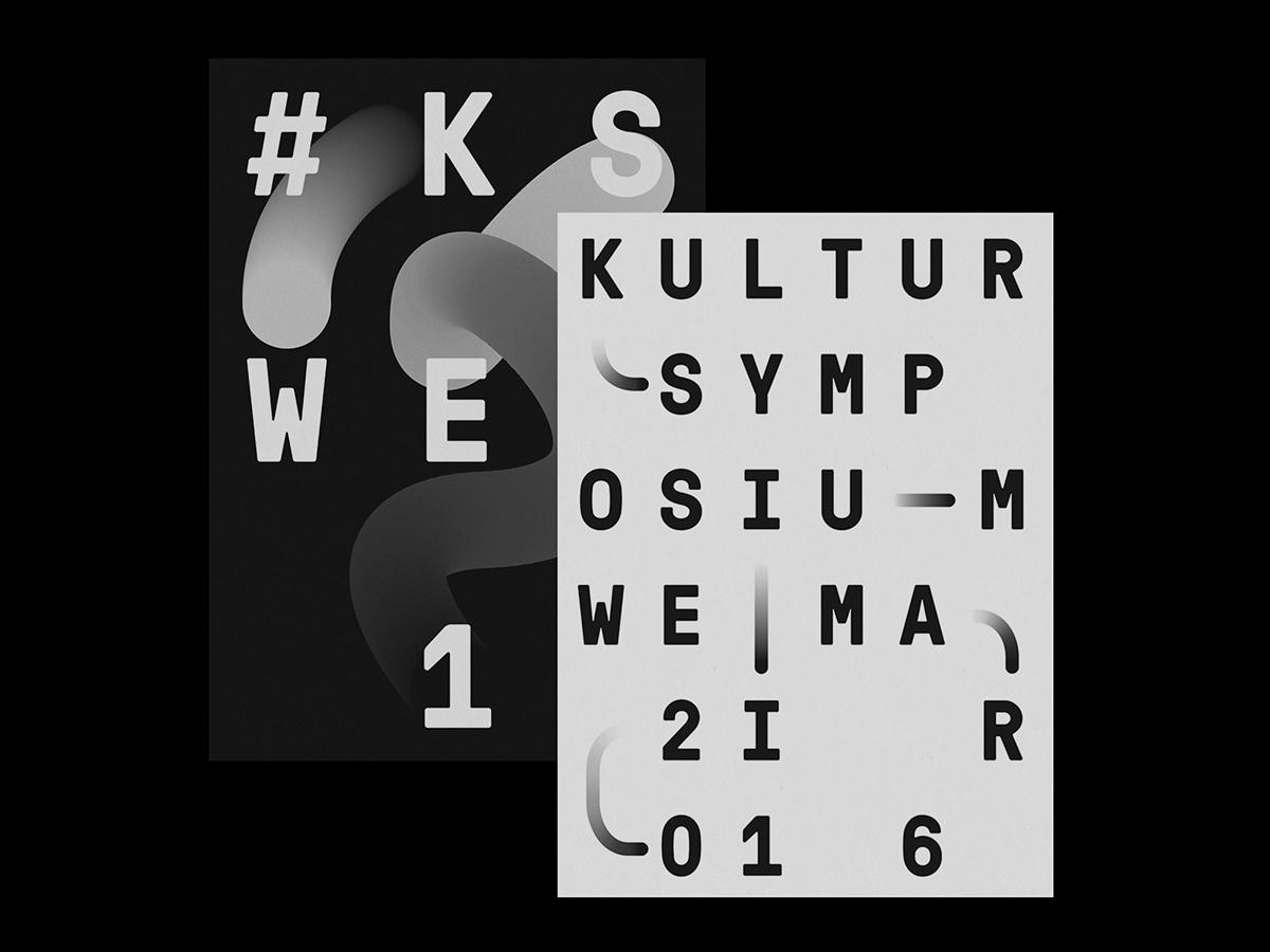 Brand identity Kultursymposium  - northeast | ello