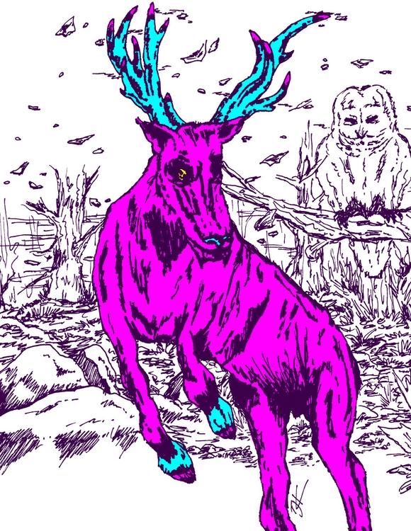 Purple Stag Color, store - Exclusive - tjkernan | ello