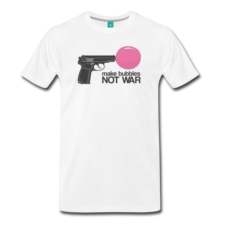 bubbles war women men, colors - tshirt - fredbahurlet | ello