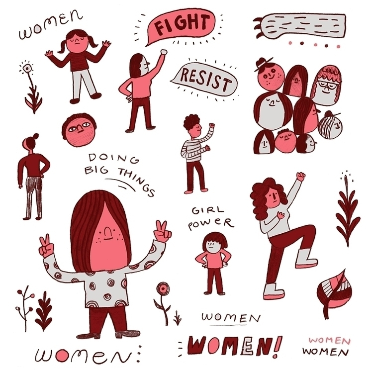 Big ups amazing WOMEN - internationalwomensday - rbubnis | ello