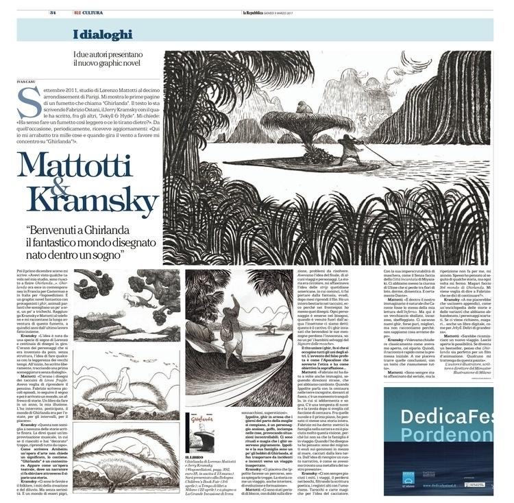 interview Lorenzo Mattotti Jerr - canuivan   ello