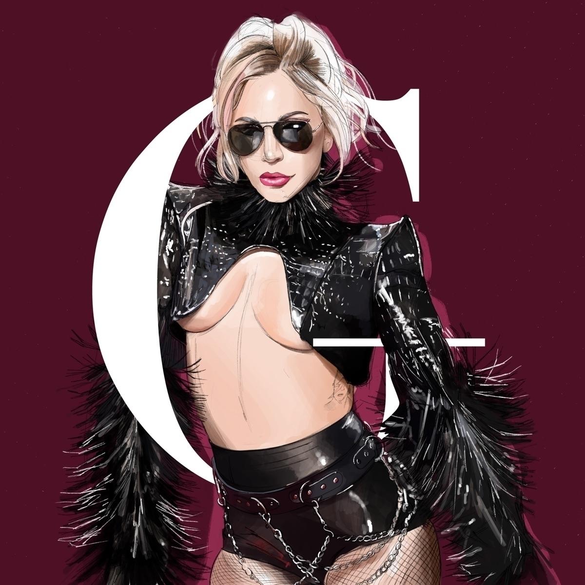 Gaga Illustration - ladygaga, gaga - fmonroyr | ello