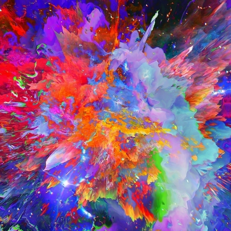 Lurek - digitalart, abstract, artdaily - dorianlegret | ello