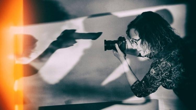 Portrait Challenge: Shadows**  - selfportraiture   ello