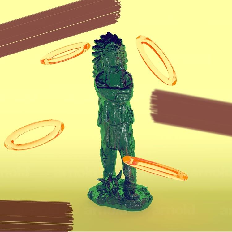 Jello Indian - 3D, Graphic - daniuxhg | ello