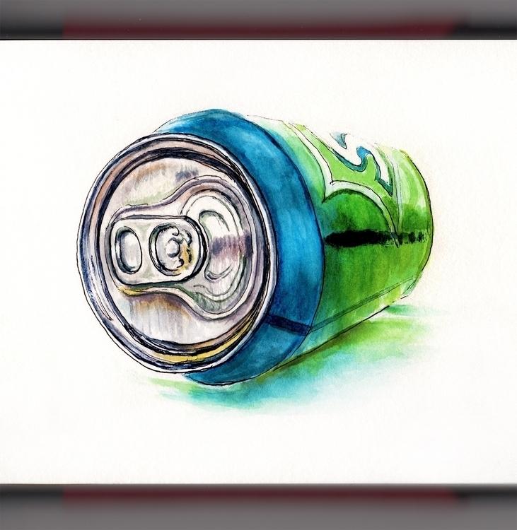 Bubbly Perspective - watercolor - doodlewash | ello
