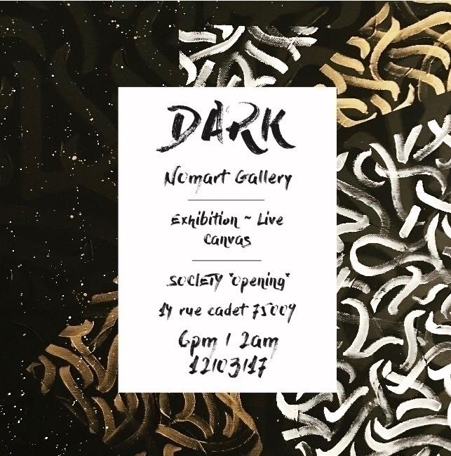 exhibition live canvas opening  - darksnooopy | ello