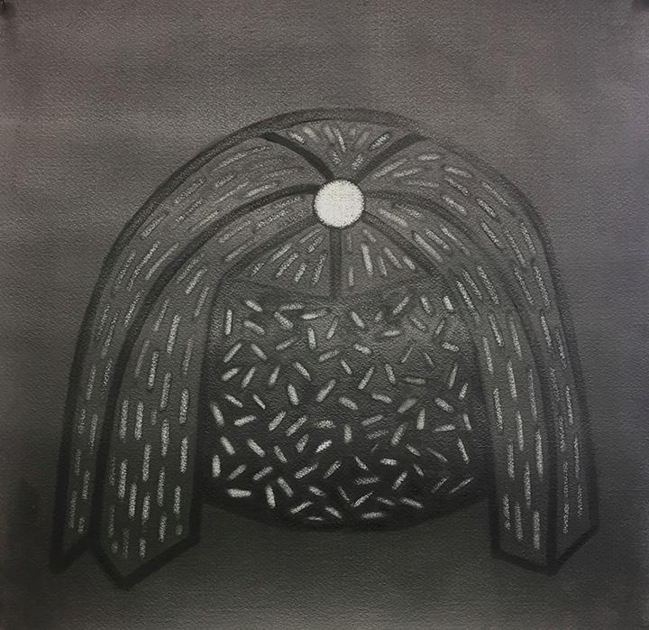 Mop Drawing, Graphite, 2017 - milwaukee - melissadornrichards | ello