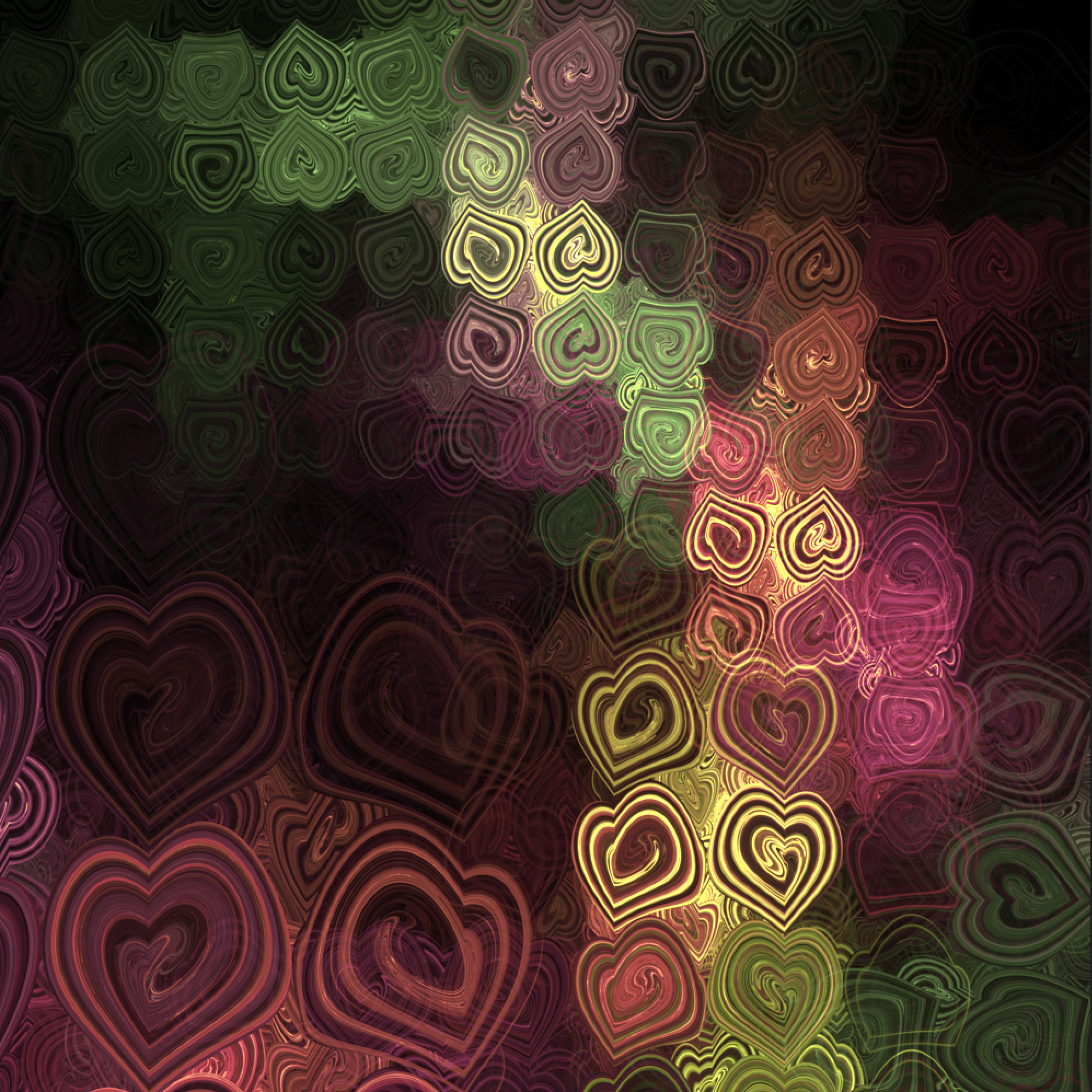 hearttt - fractal, chaotica, abstract - alexmclaren | ello