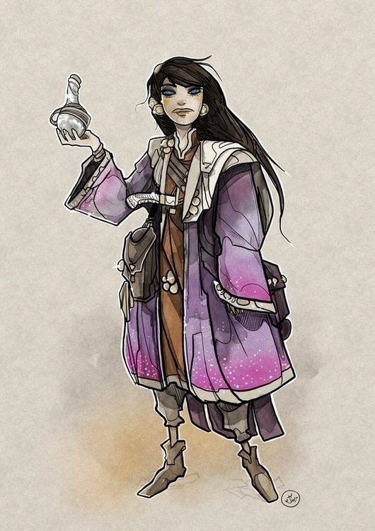 illustration, scifi, dune, drawing - shugmonkey | ello