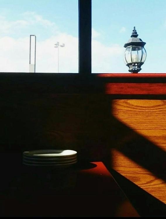 Diner vibes - colors, photography - anyabelomoina | ello