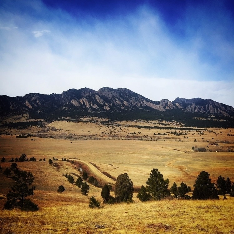 Today leaving Boulder, decided  - chelseav | ello