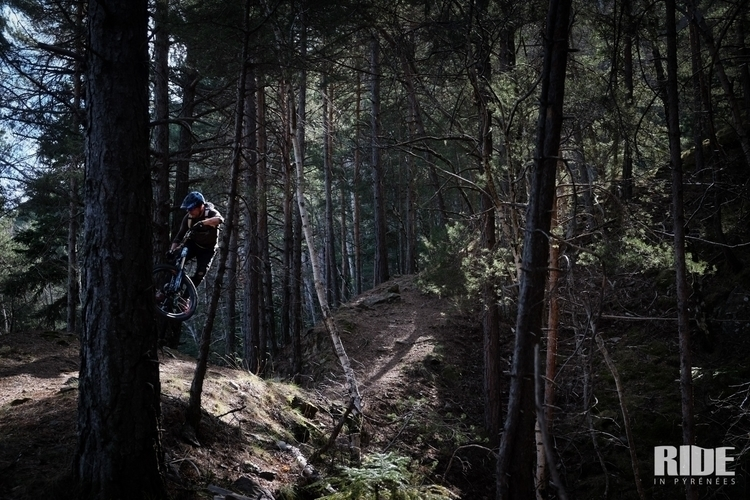 Snow melting, trails fresh big  - yannkerveno | ello