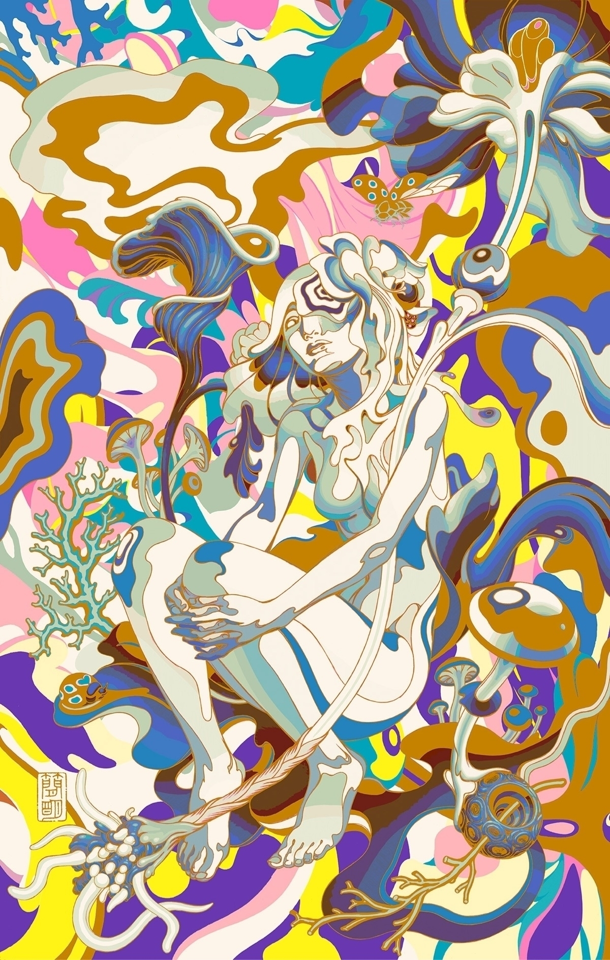 Dolly Varden, color phase - jamesjean | ello