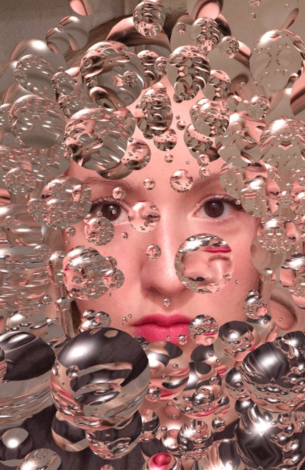 digital, selfie, manipulation - ciocio   ello