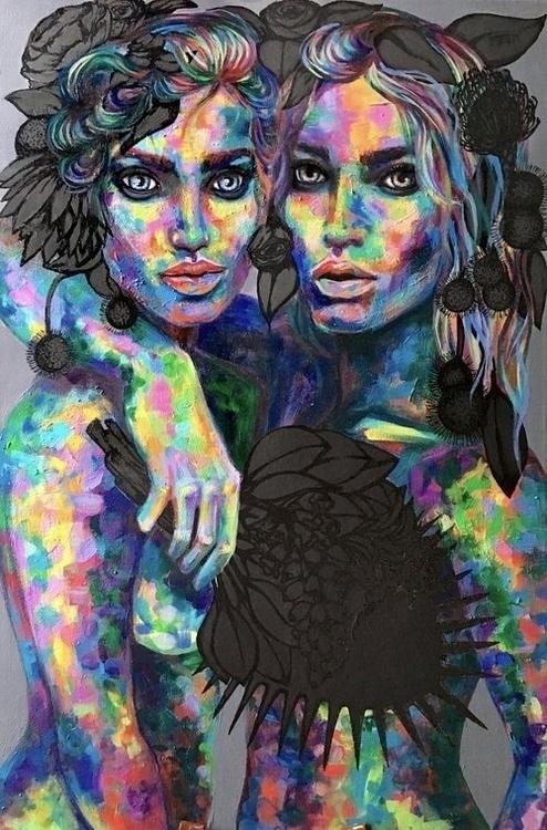 Amazing artwork member Isabelle - conartistcollective | ello