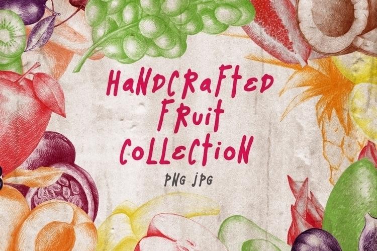 Hand drawn Fruit Collection - fruits - nantia | ello