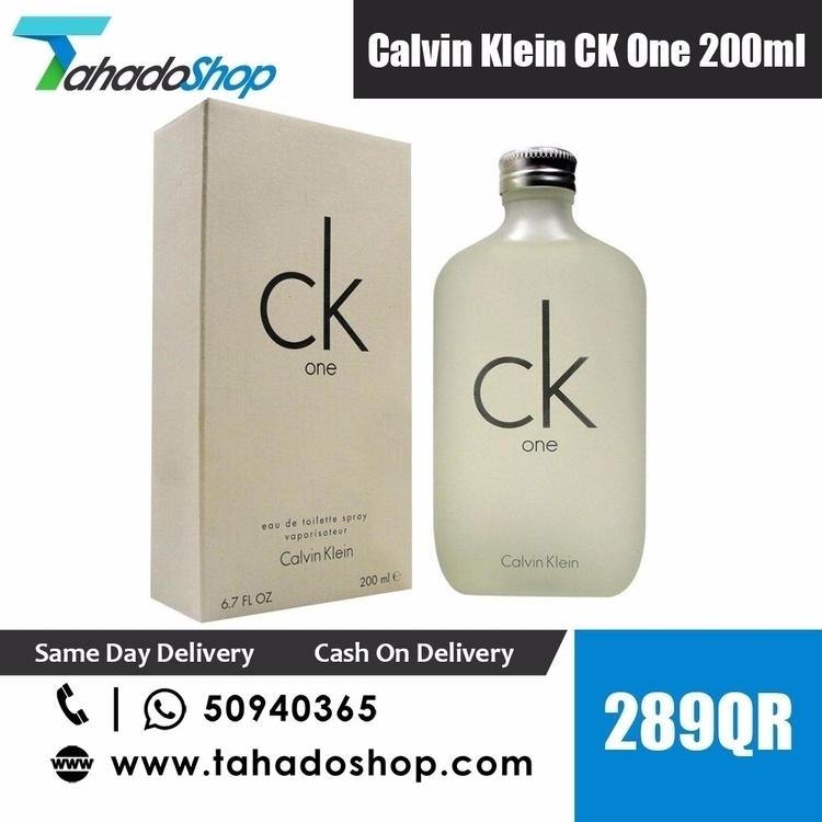 CALVIN KLEIN CK EAU DE TOILETTE - tahadoshop | ello