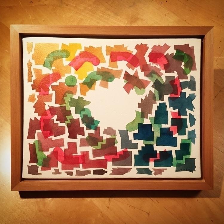 Spectrum Sense, watercolor, 11  - mikebiskup | ello