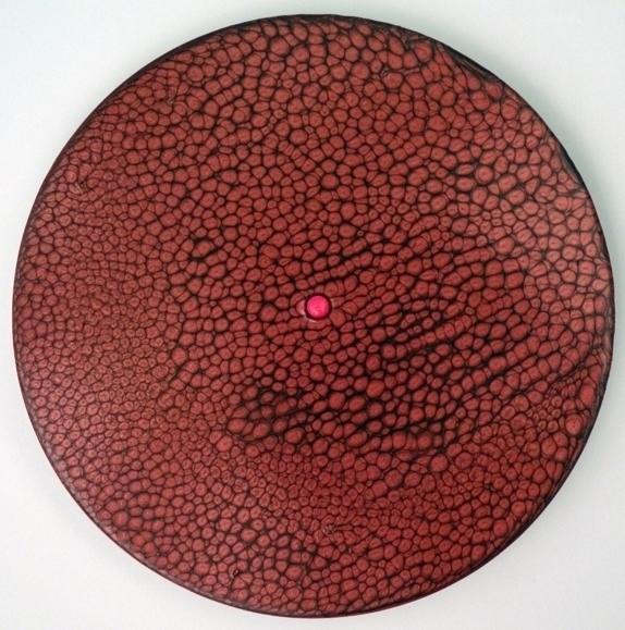iPill, 2017 pill, oil board - art - tinalaporta | ello