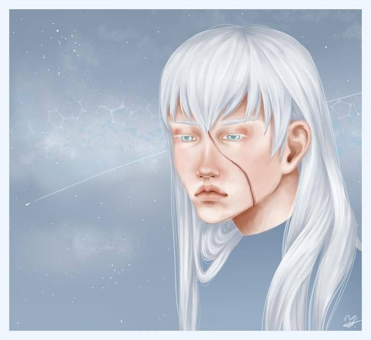 character, Mitsue. blind scar f - tachan   ello