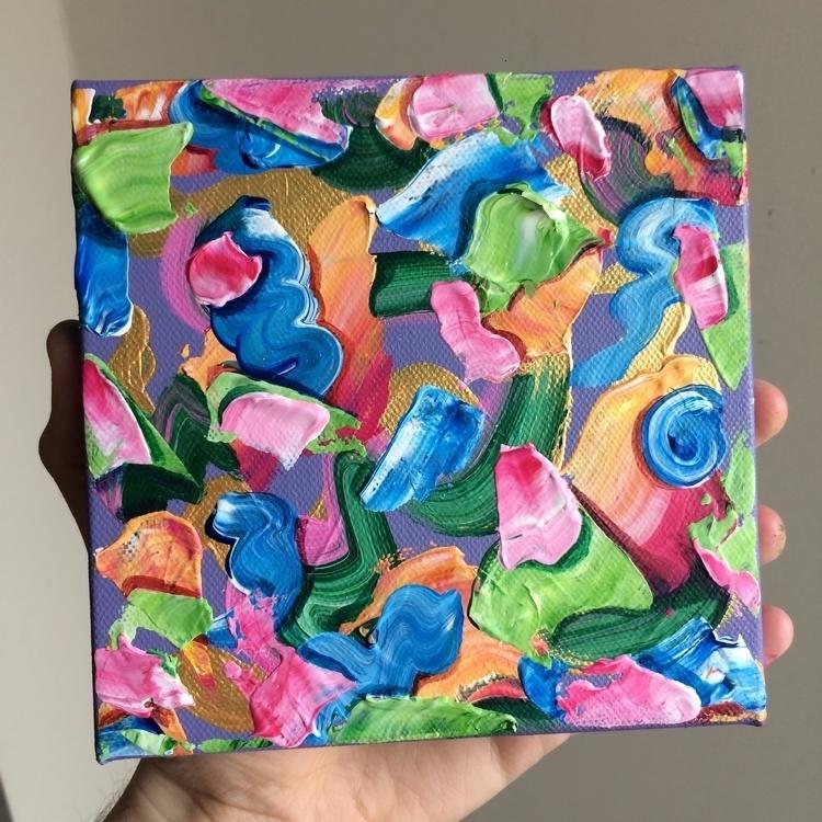 selling 6 acylic painting canva - dhuston | ello