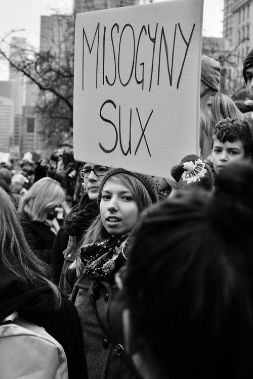 Misogyny SUX Toronto 2017 March - dainahodgson | ello