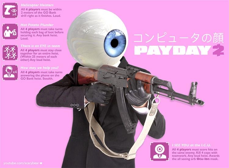 Concept Art fav game PD2 - vide - swearwolf | ello