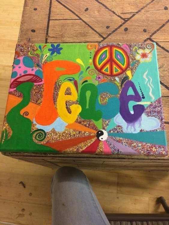 finished painting - hippystyle, peace - emooollyy | ello