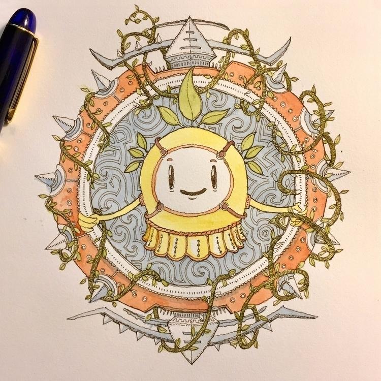 Ghost Circle. Drawn Platinum 37 - junkyardsam | ello