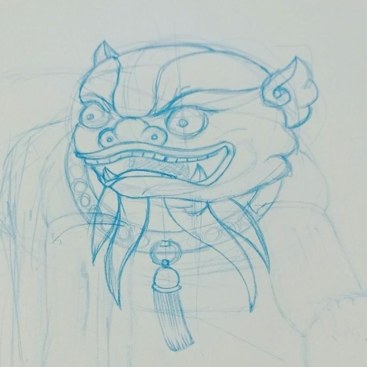 Working illustration - vectorart - riseofthemonkey | ello
