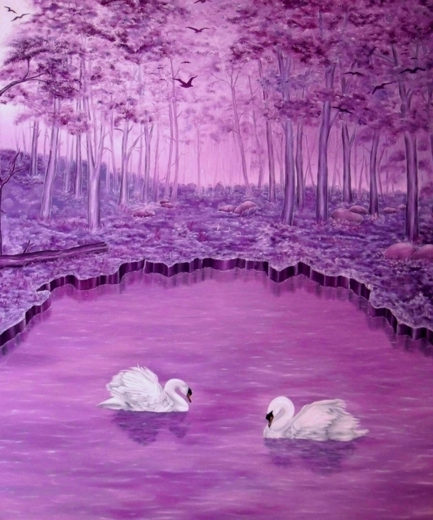 painting, art, prints, fantasy - fayeanastasopoulou   ello