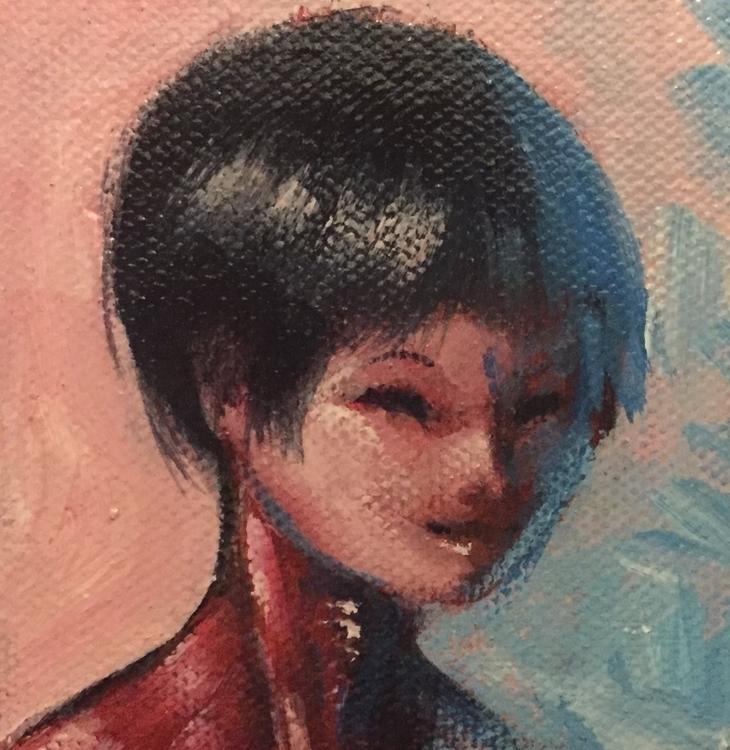 3x3 mini painting - kentack | ello