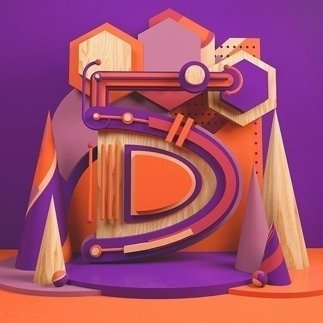 Number 5 Illustrated Alphabet c - cadenascarlo | ello