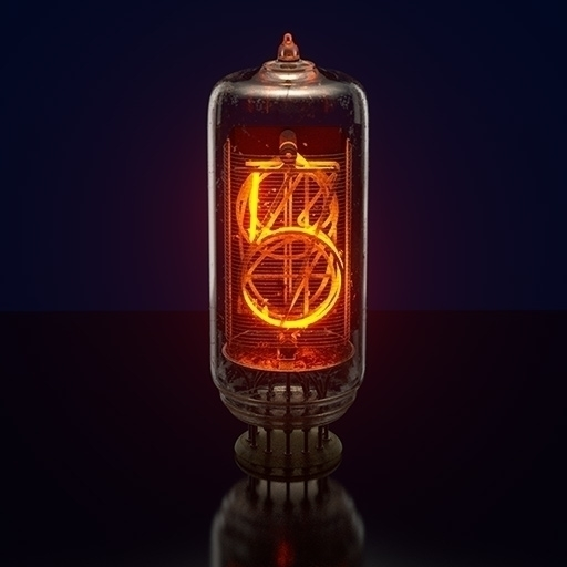 nixietube, wip, maxwellrender - digitalartform | ello