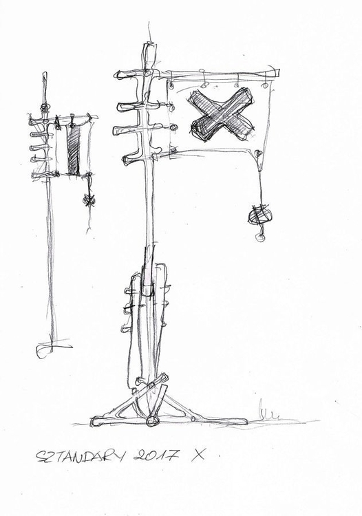 Flag signs - flag, sketch, art, wood - matyjaszewski | ello