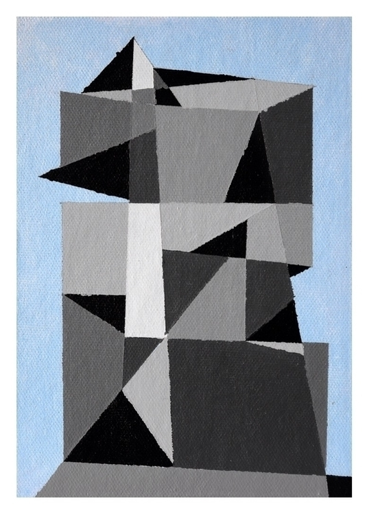 City 31. 18x13cm, 2016 - art, painting - carpmatthew | ello