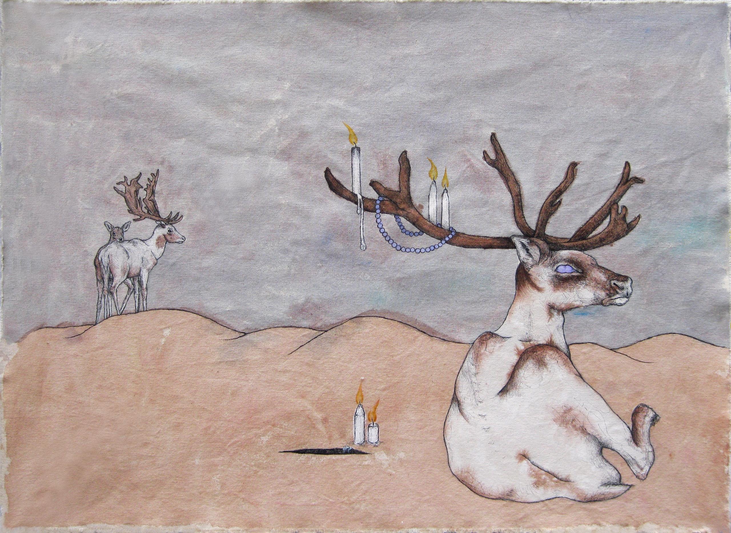 Pilgrimage Afraid watercolor, a - hannahward | ello