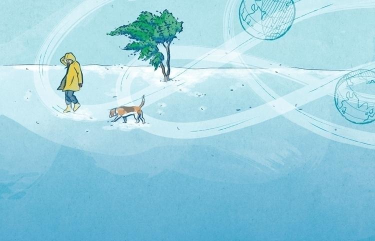 Illustrations March issue Yorok - mariacastellosolbes | ello