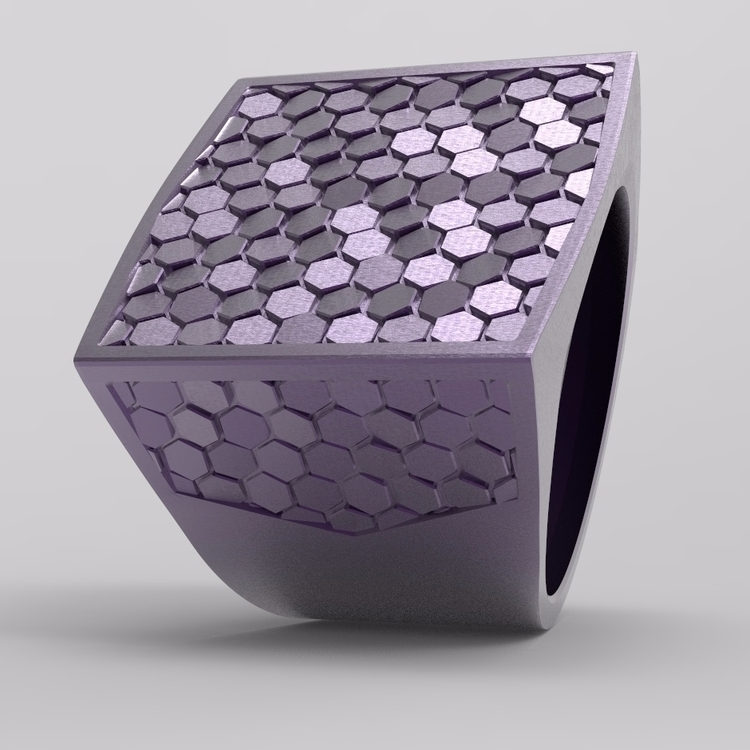 ring design - jewelry, 3D - koshman | ello