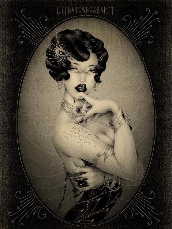 'Chinatown Cabaret' ONEQ, print - geekynerfherder | ello