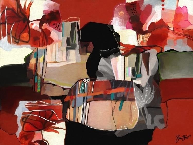 Events - abstract, art, mixedmedia - ginastartup | ello
