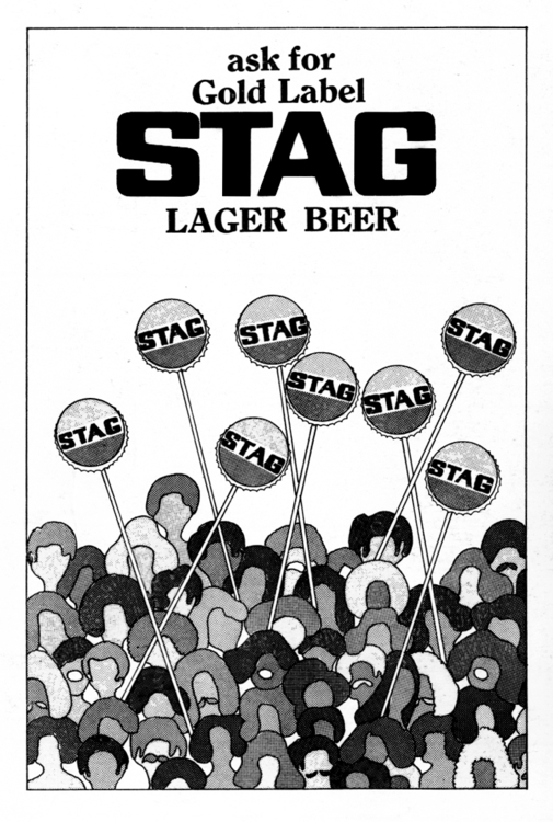 gold label STAG advertisement o - dboo | ello