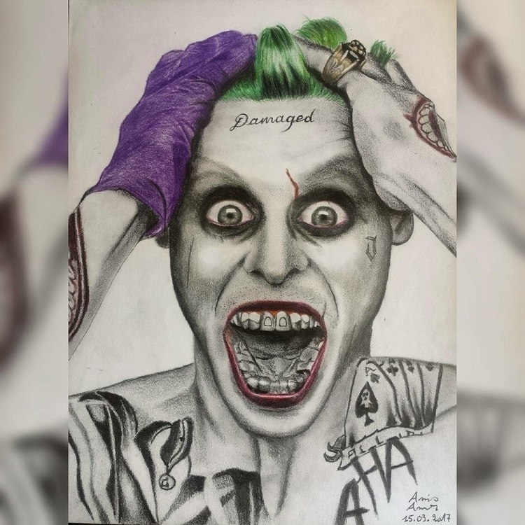 artwork joker hope - anis__beo | ello