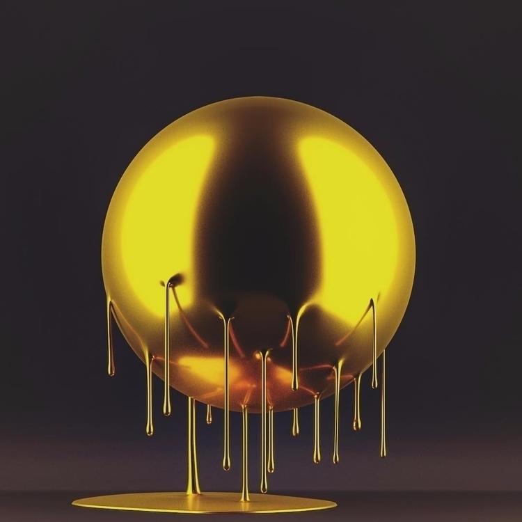 Sphere 28 - Gold - merlin_aledo | ello
