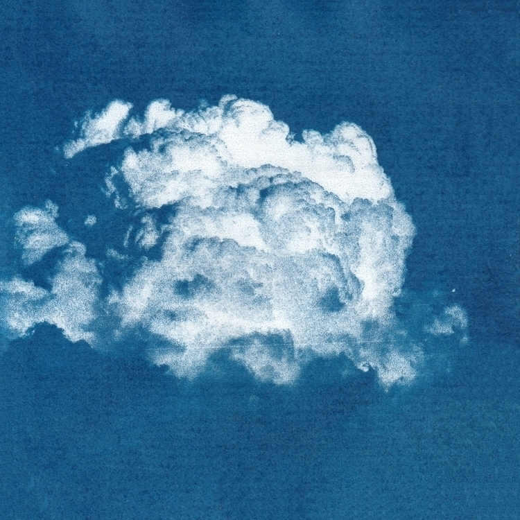 Cyanotype - Cloud - 3, cyanotype - acidecabine | ello