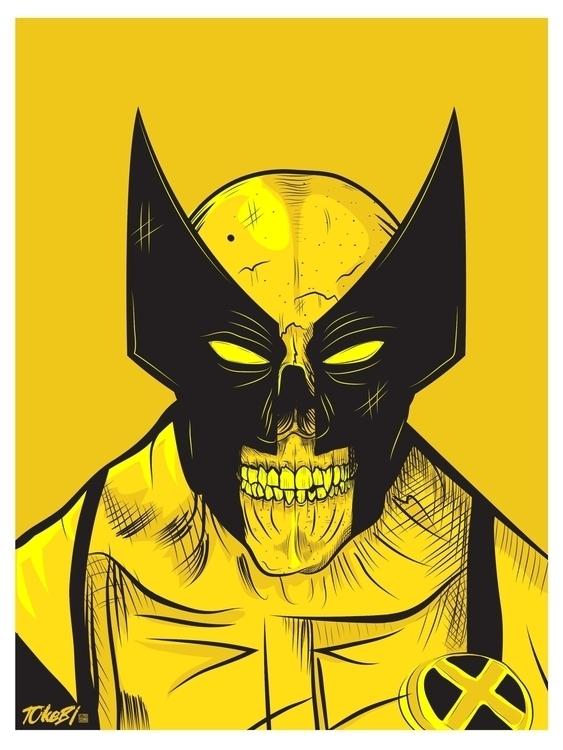 Wolverine Skull Mashup. watched - tokebi | ello