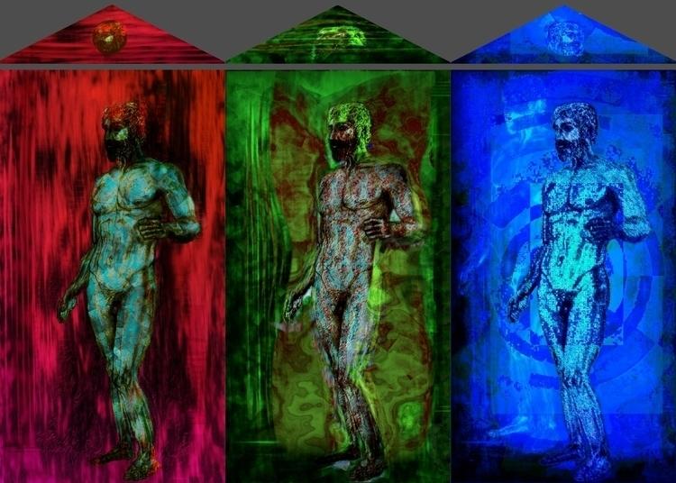 RGB Project Triptych: Bronzes R - jesustorradotoro | ello