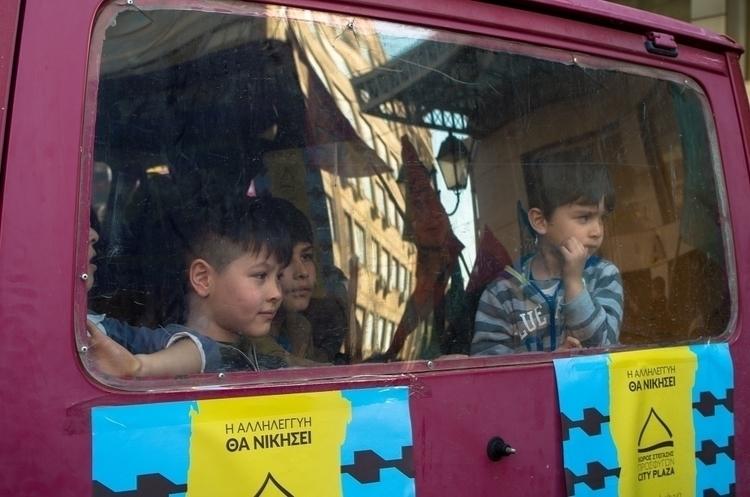 Refugee children solidarity dem - kostasarvanitis | ello