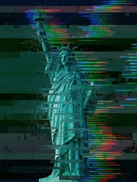 glitchinthesystem, ladyliberty - 8millionstories | ello